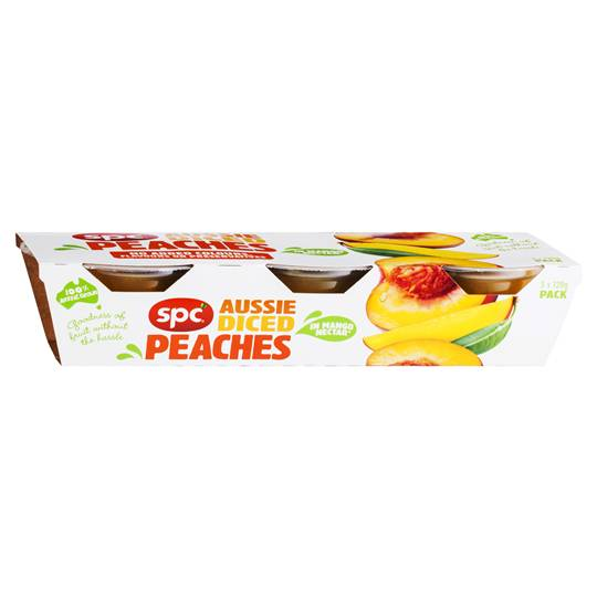 Spc Diced Peach In Mango Juice