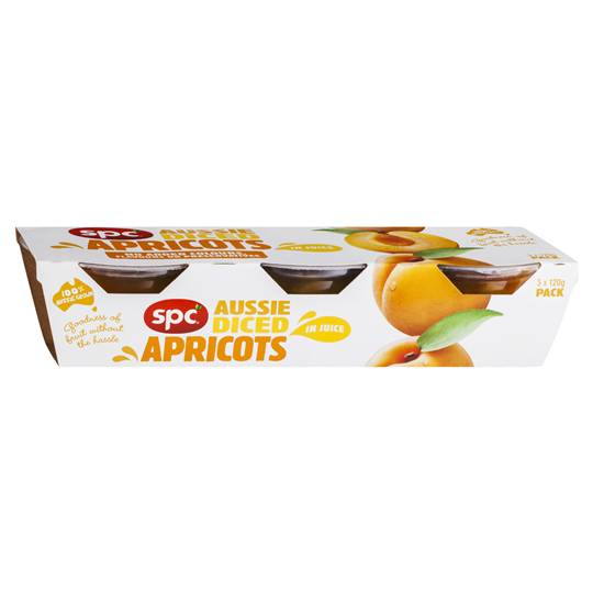 Spc Diced Apricot Apricot