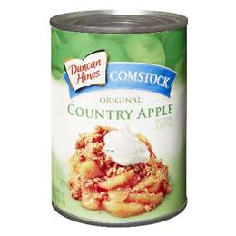 Duncan Hines Apple Cinnamon Pie Filling
