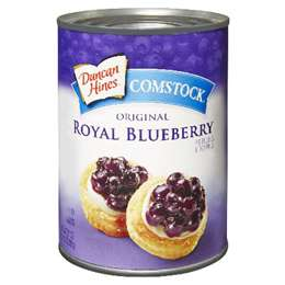Duncan Hines Blueberry Pie Filling