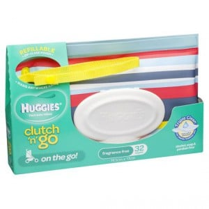 Huggies Clutch 'n' Go Thick Baby Wipes