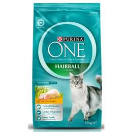 Purina One Hairball Cat Formula With Chicken