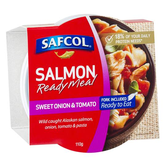 Safcol Sweet Onion & Tomato Salmon Meal