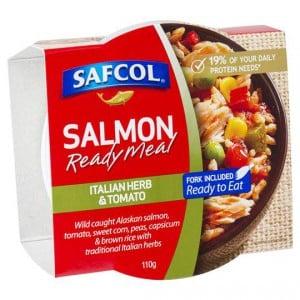 Safcol Italian Herb & Tomato Salmon Meal