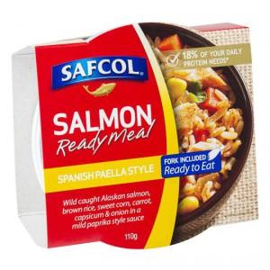Safcol Spanish Paella Salmon Meal