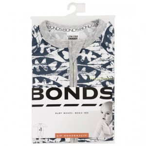 Bonds Zippy Wondersuit Grey Size 000 - 2