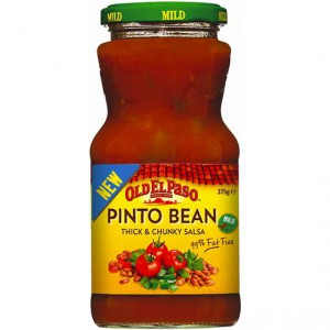 Old El Paso Pinto Bean Thick & Chunky Salsa