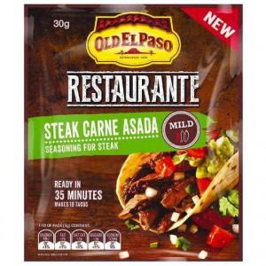 Old El Paso Restaurante Steak Carne Asada Seasoning