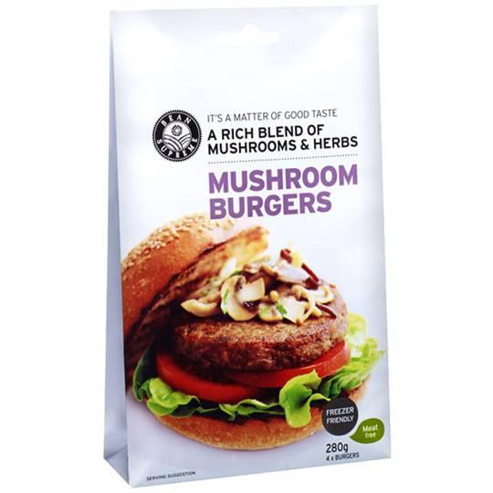 coastalkaryn reviewed Bean Supreme Mushroom Burger