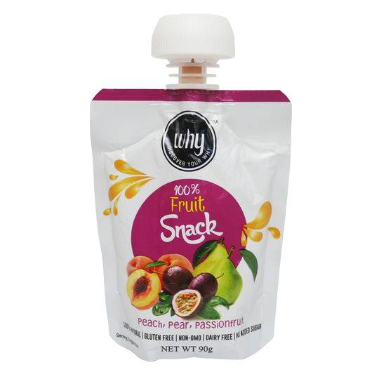 Why Peach Pear & Passionfruit Fruit Snack