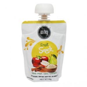 Why Apple Pear Oats & Cinnamon Fruit Snack