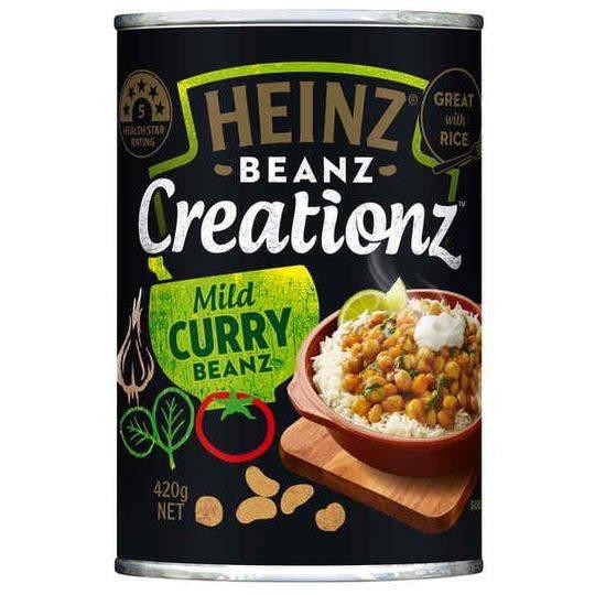 Heinz Creations Mild Curry Beanz