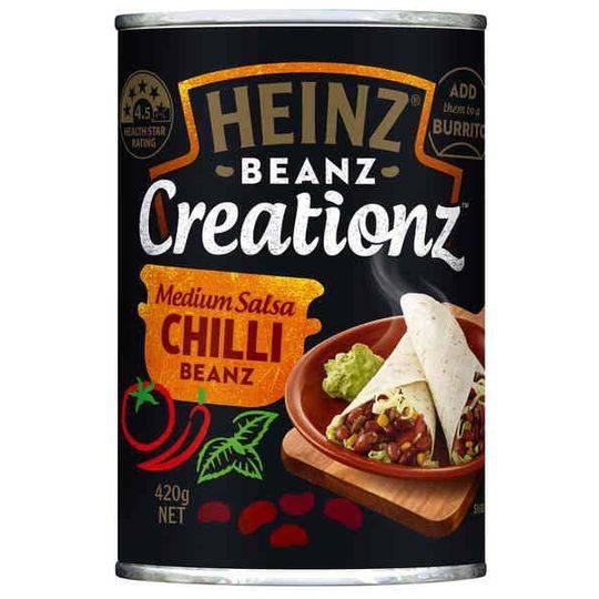 Heinz Creations Salsa Chilli Beanz