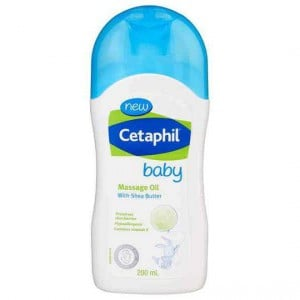 Cetaphil Baby Massage Oil With Shea Butter