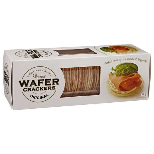 Ob Finest Original Wafer Crackers