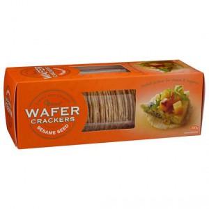 Ob Finest Sesame Wafer Crackers