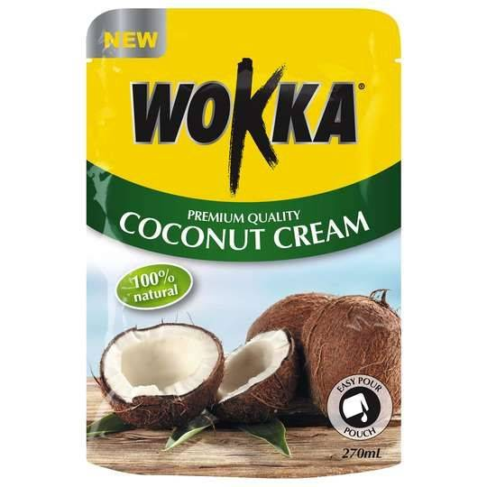 Wokka Coconut Cream