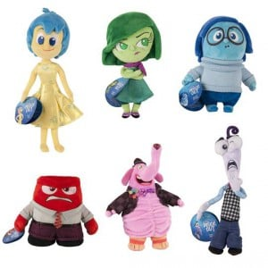 Inside Out Plush Toy