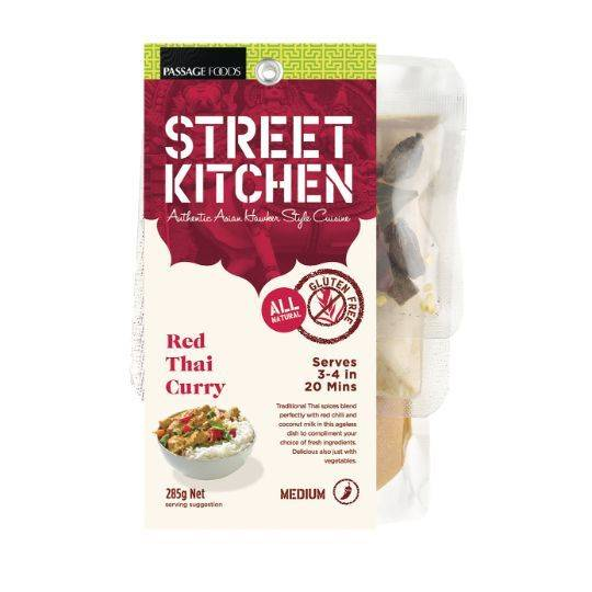 Street Kitchen Red Thai Curry Kit