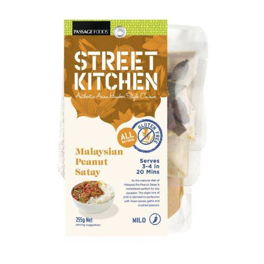 Street Kitchen Malaysian Peanut Satay Kit