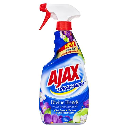 Ajax Spray N Wipe Devine Blends Violet & Apple Blossom