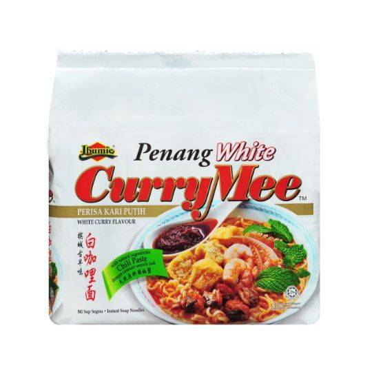 Ibumie Penang White Curry Mee (4x105g)