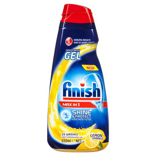 Finish Max In 1 Lemon Liquid Gel