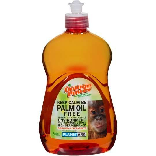 Orange Power Dishwashing Liquid