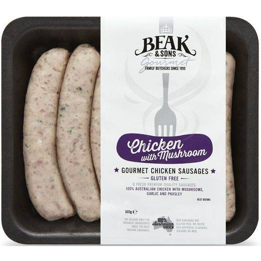 Beak & Sons Gourmet Chicken Sausages