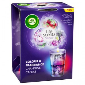 Air Wick Life Scents Mystical Garden Multicolour Candle