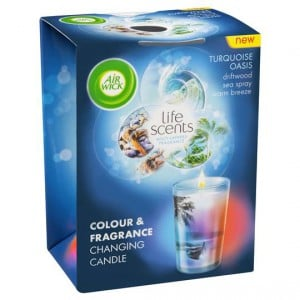 Air Wick Life Scents Turquoise Oasis Multi Colour Candle