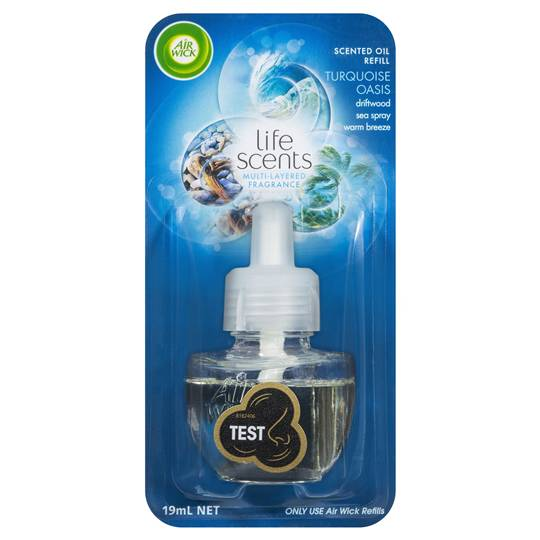 Air Wick Life Scents Turquoise Oasis Plug In Refill