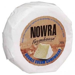 Nowra Farmhouse Double Cream Camembert