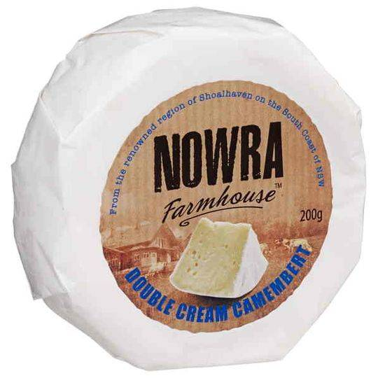 Nowra Farmhouse Double Cream Camembert