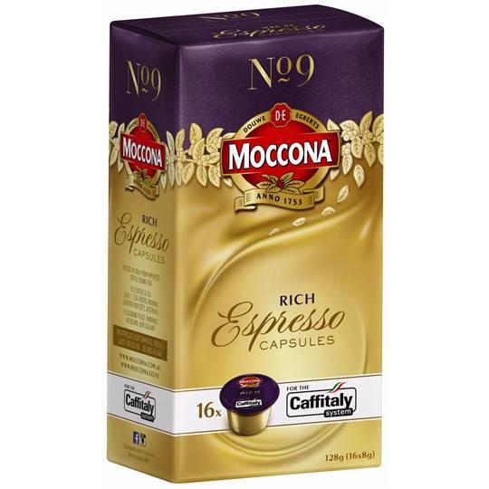 Moccona Espresso Capsules Rich No.9