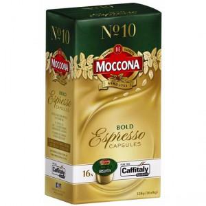 Moccona Espresso Capsules Bold No.10
