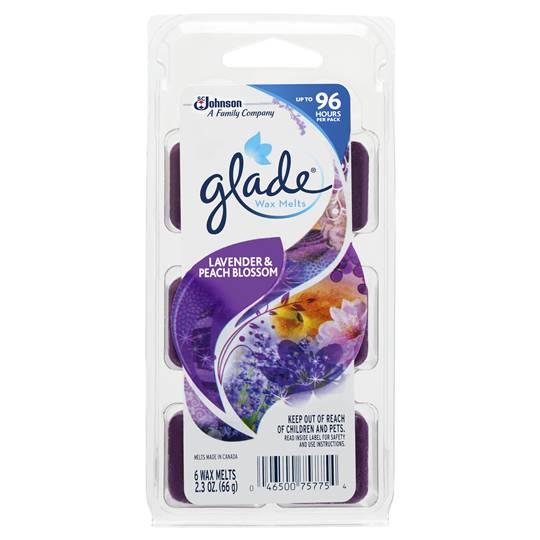 Glade Lavender & Peach Wax Melts