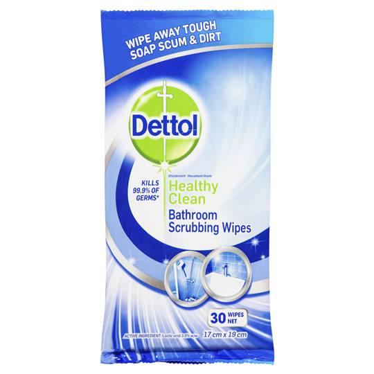 Dettol Healthy Clean Bathroom Wipes