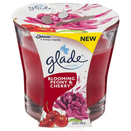 Glade Blooming Peony & Cherry Candle