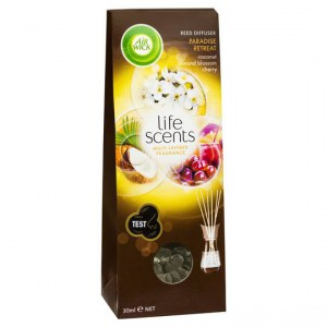 Air Wick Life Scents Paradise Retreat Reed Diffuser