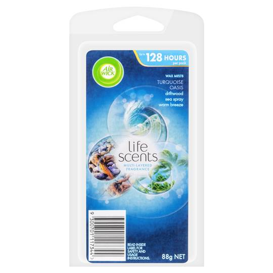 Air Wick Life Scents Turquoise Oasis Wax Melts Refill