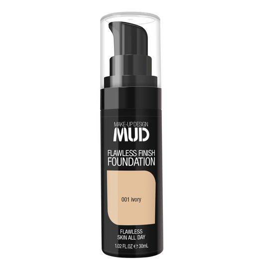 Mud Liquid Foundation 001 Ivory