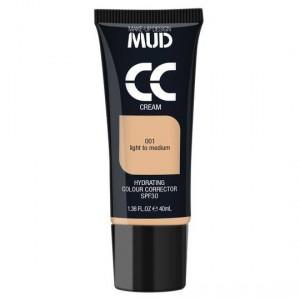 Mud Cc Cream 001 Light To Medium