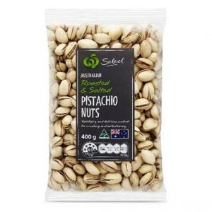 Pistachio Nuts Roasted & Salted