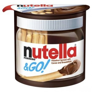 Ferrero Nutella & Go Hazelnut Spread With Breadsticks