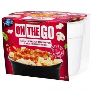 On The Go Red Pep & Mushroom Fusilli
