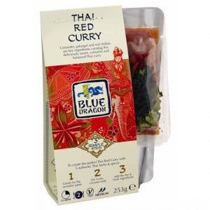 Blue Dragon 3 Step Red Curry