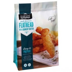 Ocean Chef Crispy Battered Flathead
