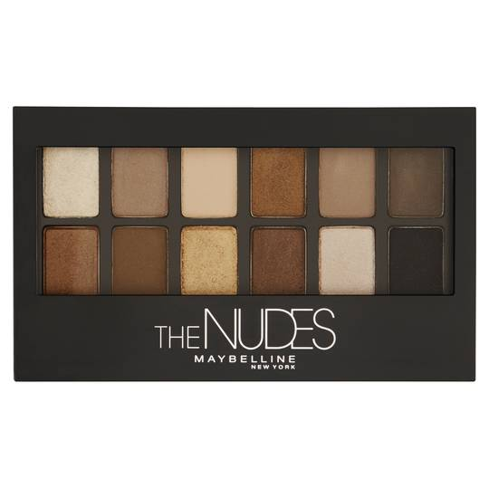 Maybelline The Nudes Palette Eyeshadow