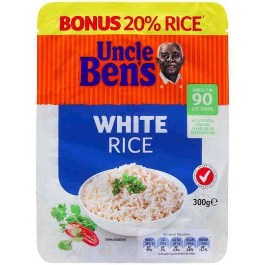 Uncle Bens White Rice
